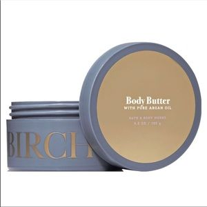 Body butter with pure argan oil